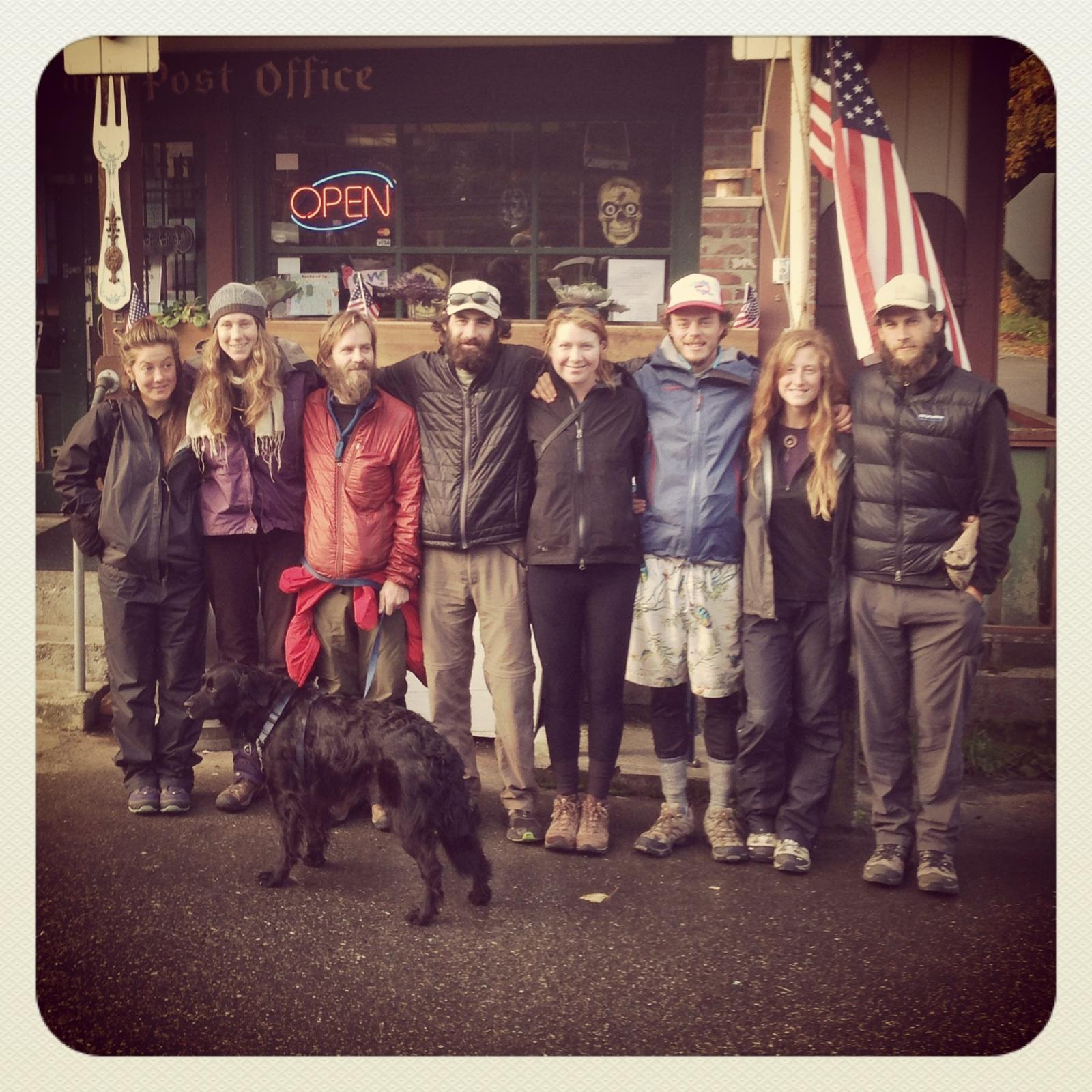 Our expedition team! Elizabeth, Luna, Werewolf, Coincidence (he was there for support!), Outburst, Thirty Pack, Hot Tub, Sweet Tooth and SupDog.